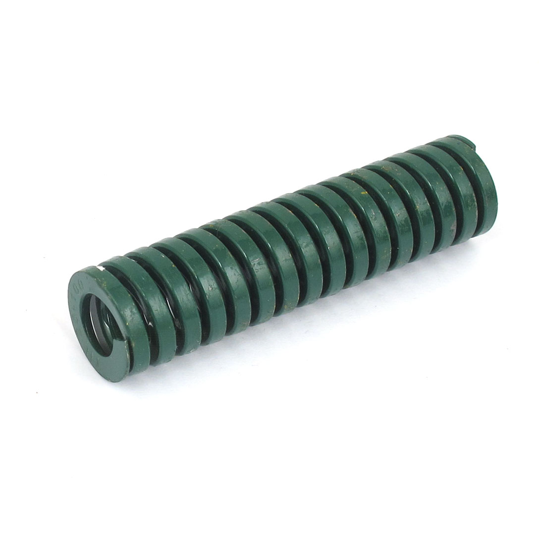 25mm OD 100mm Long Heavy Load Spiral Stamping Compression Die Spring Green