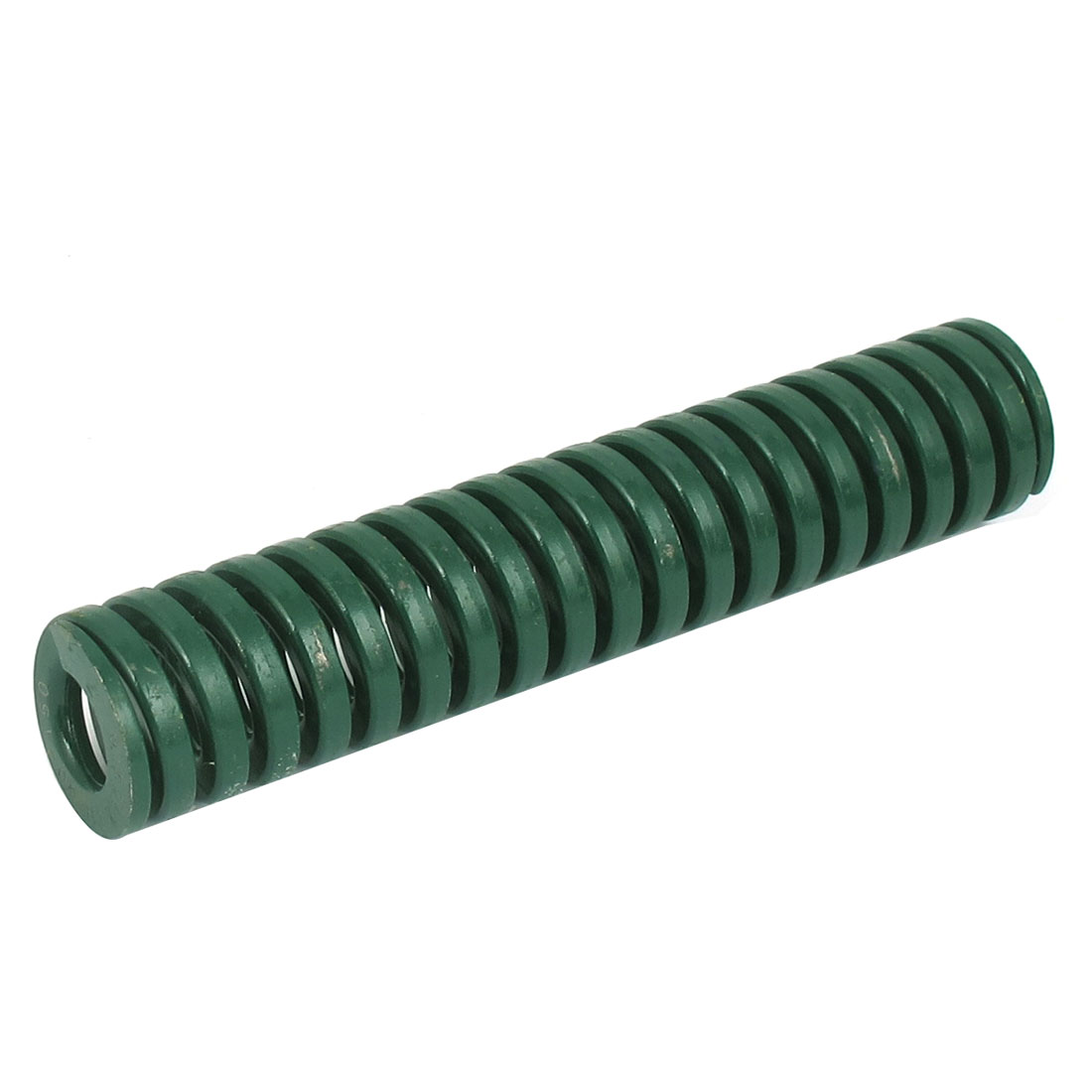 30mm OD 150mm Long Heavy Load Spiral Stamping Compression Die Spring Green