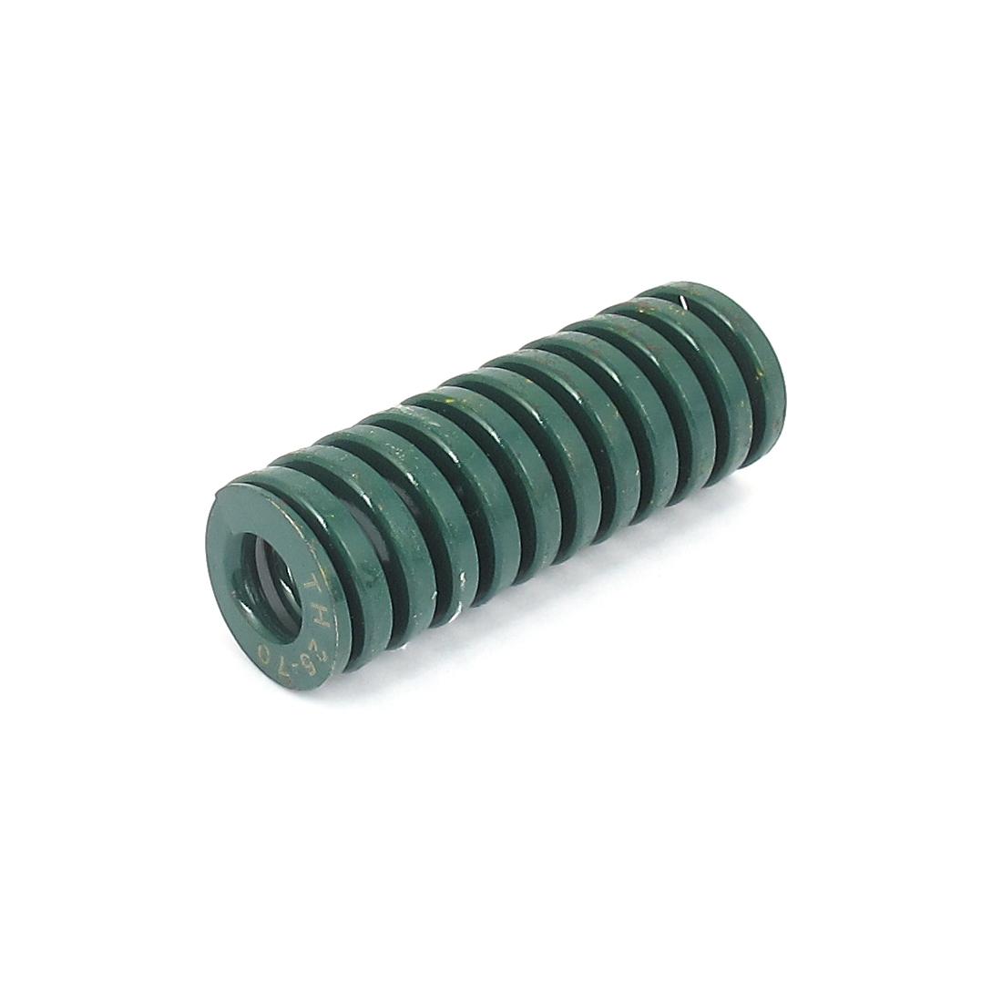 25mmx70mm Chromium Alloy Steel Heavy Load Die Spring Green