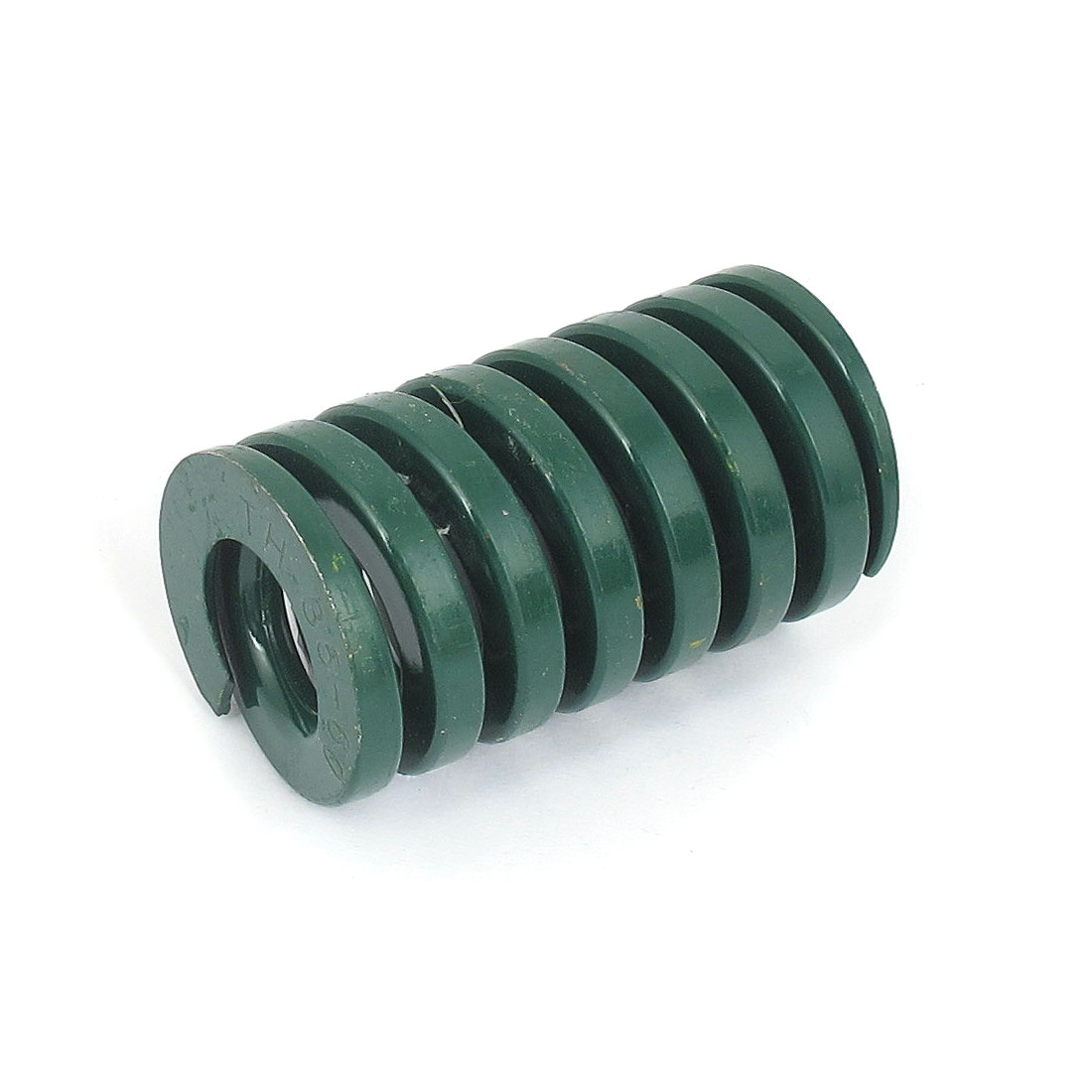 35mm OD 60mm Long Heavy Load Spiral Stamping Compression Die Spring Green