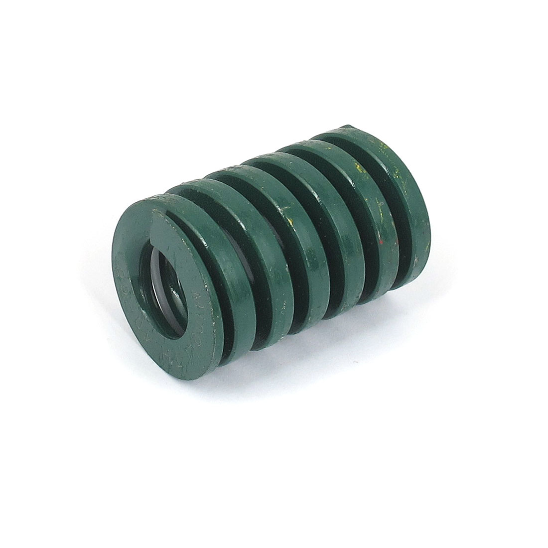 40mm OD 60mm Long Heavy Load Spiral Stamping Compression Die Spring Green