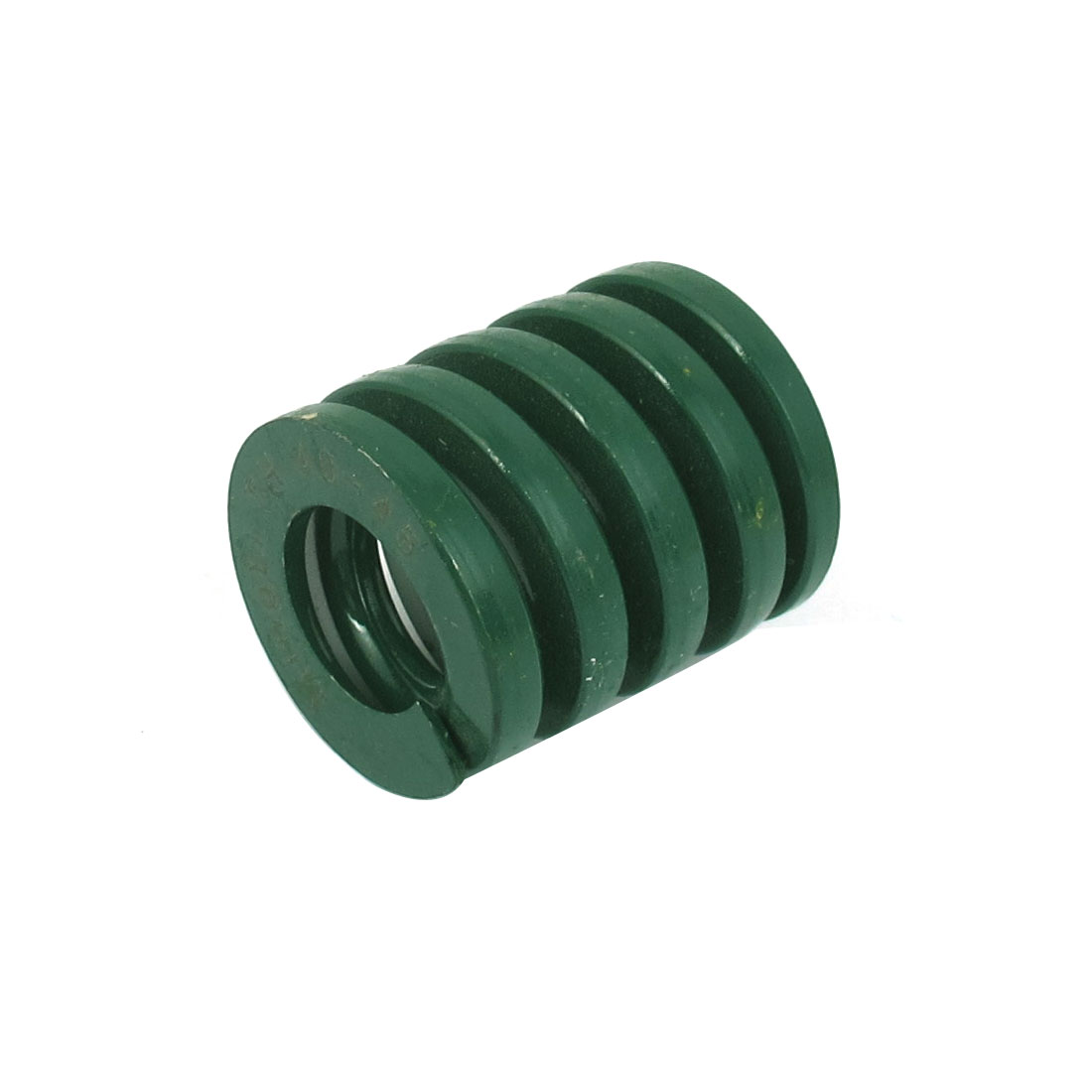 40mm OD 45mm Long Heavy Load Spiral Stamping Compression Die Spring Green