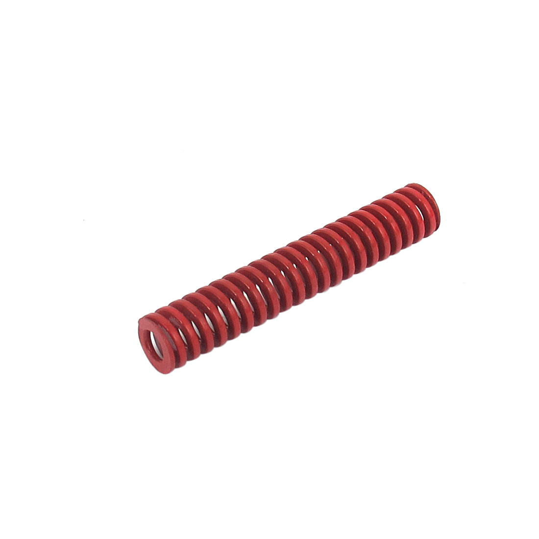 8mm OD 45mm Long Medium Load Spiral Stamping Compression Die Spring Red