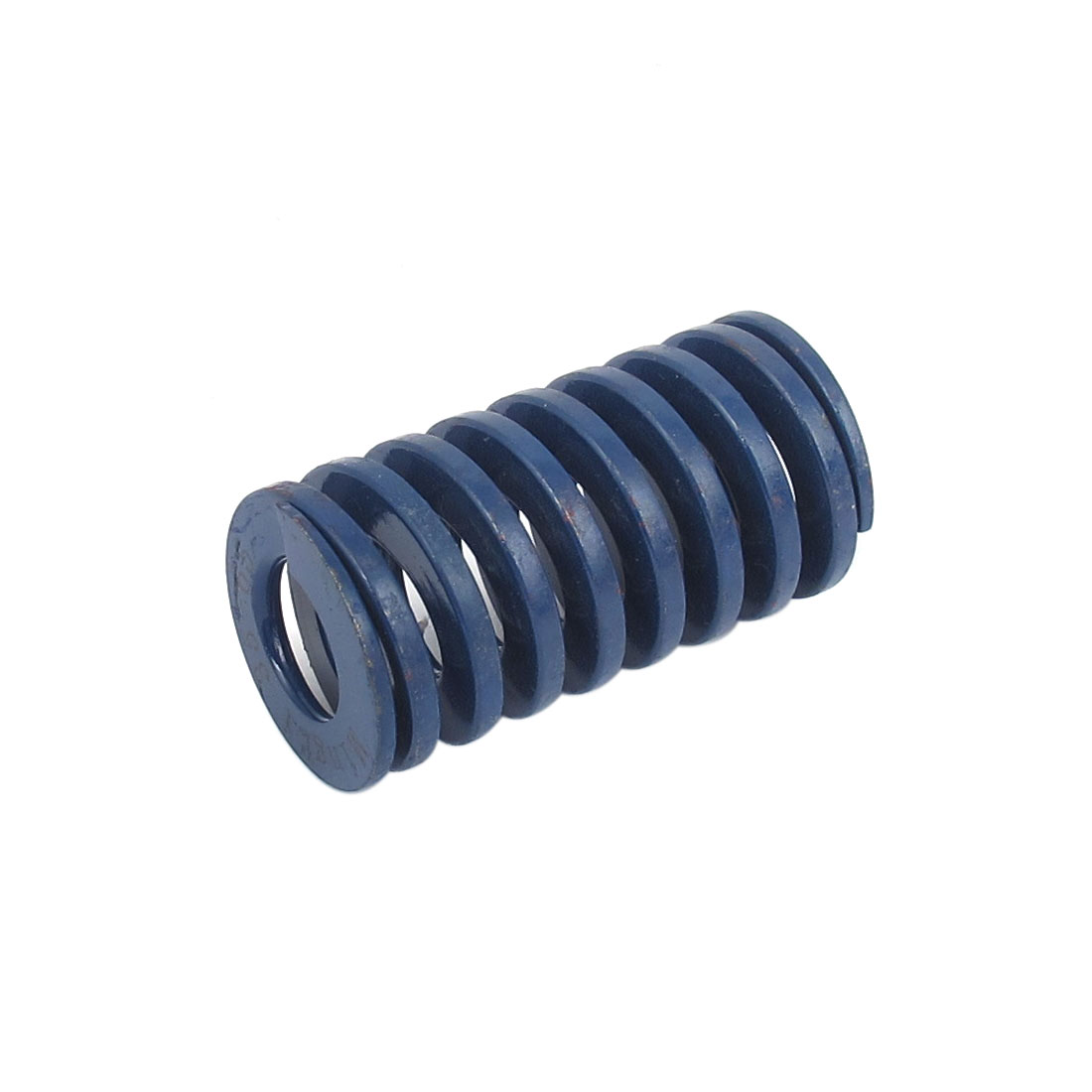 35mm OD 65mm Long Light Load Spiral Stamping Compression Die Spring Blue