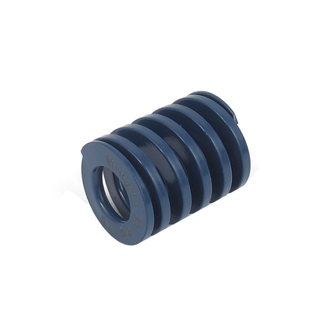 20mm OD 25mm Long Light Load Spiral Stamping Compression Die Spring Blue