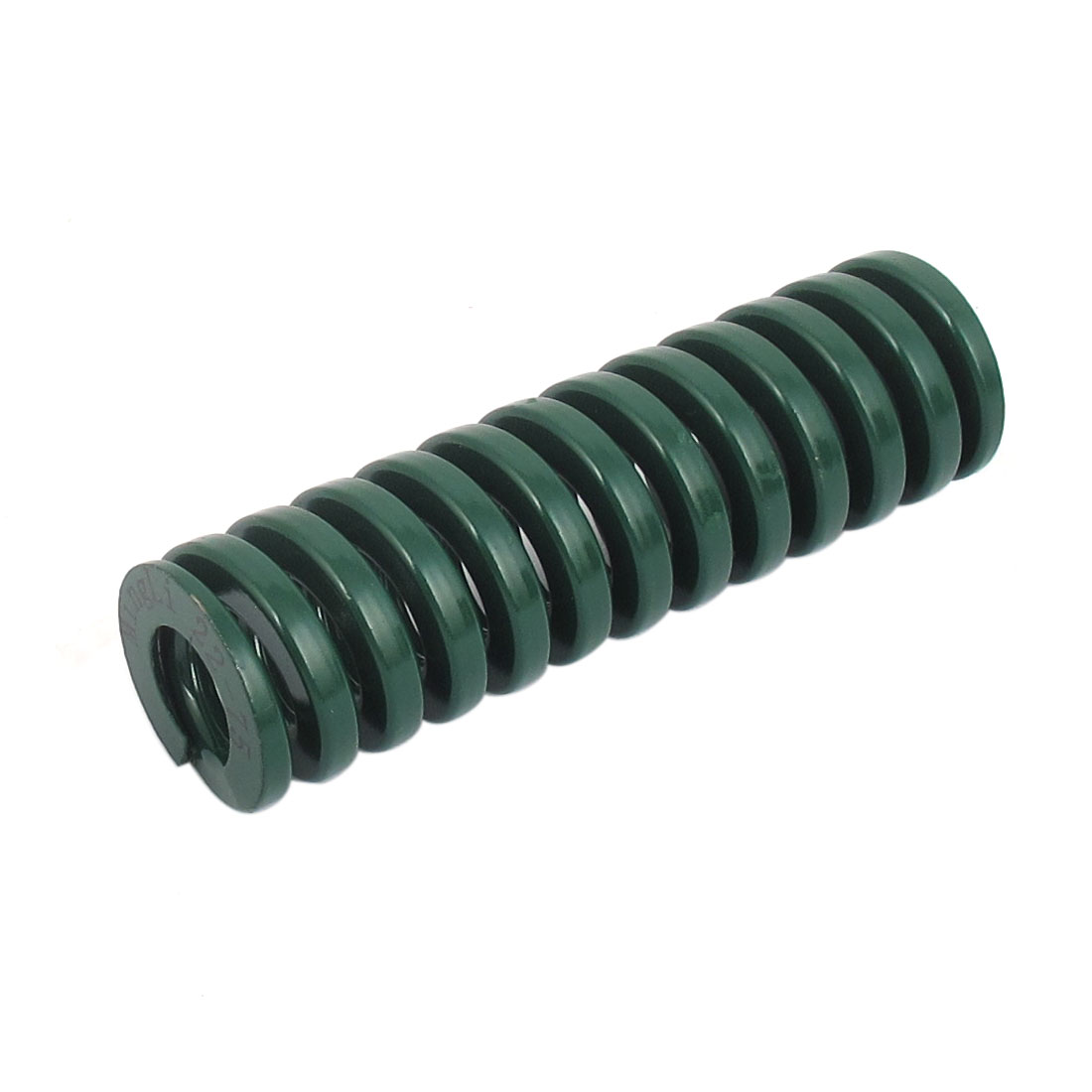 22mm OD 75mm Long Heavy Load Spiral Stamping Compression Die Spring Green