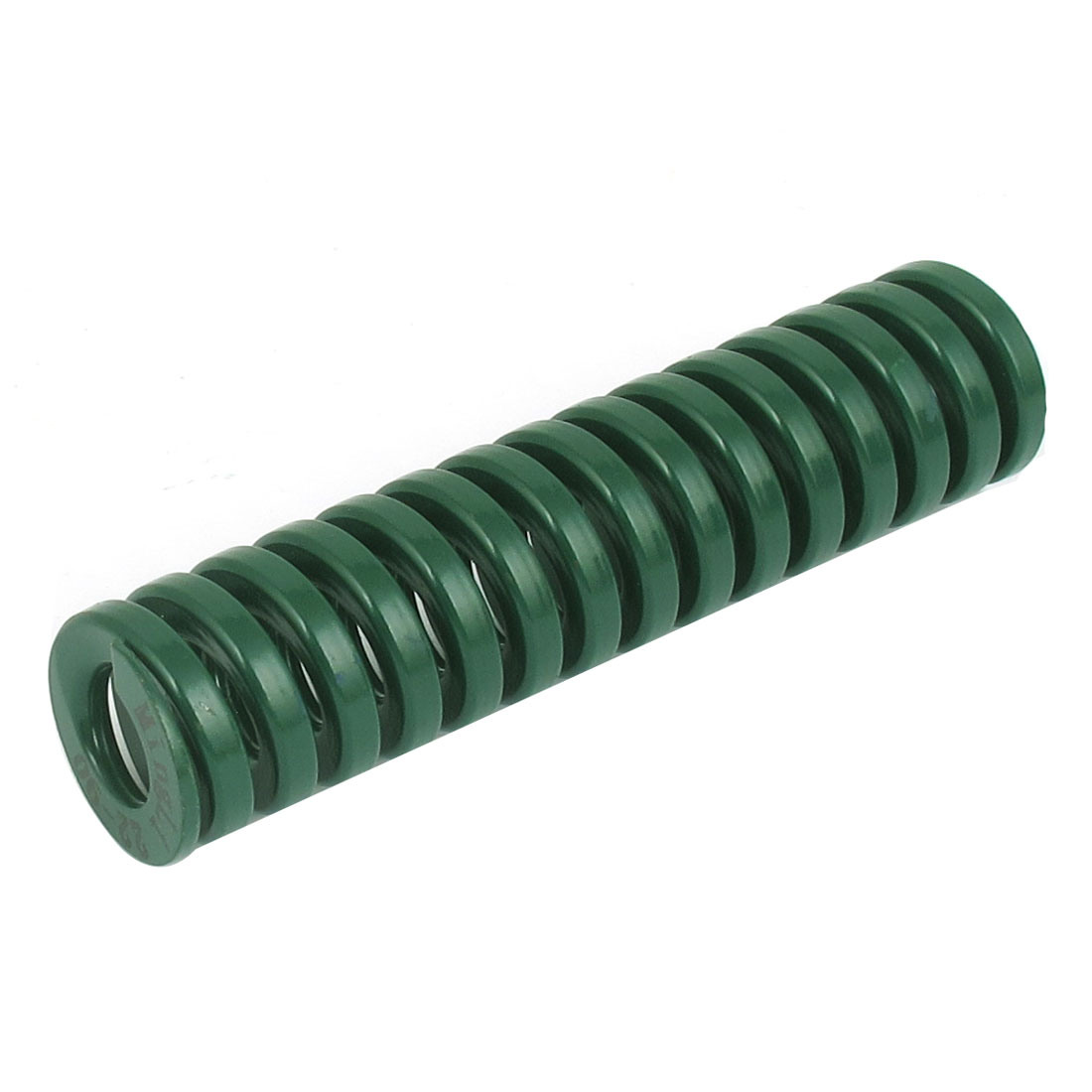 22mm OD 90mm Long Heavy Load Spiral Stamping Compression Die Spring Green