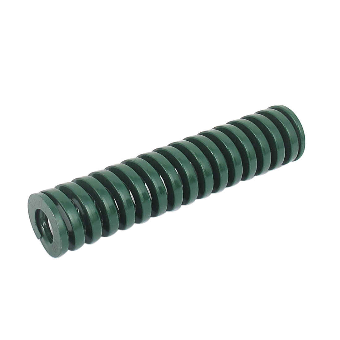 22mm OD 100mm Long Heavy Load Spiral Stamping Compression Die Spring Green