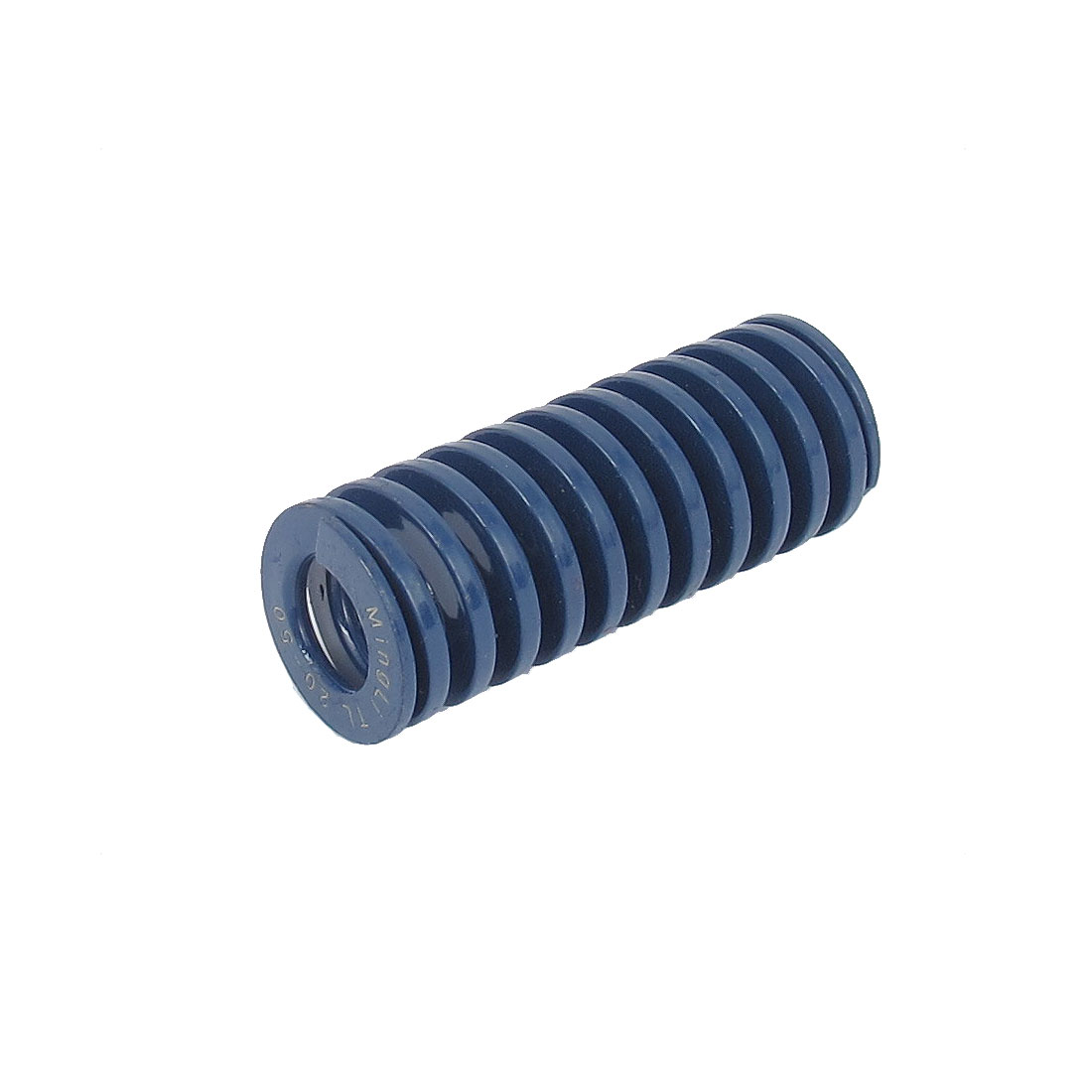 20mm OD 50mm Long Light Load Spiral Stamping Compression Die Spring Blue