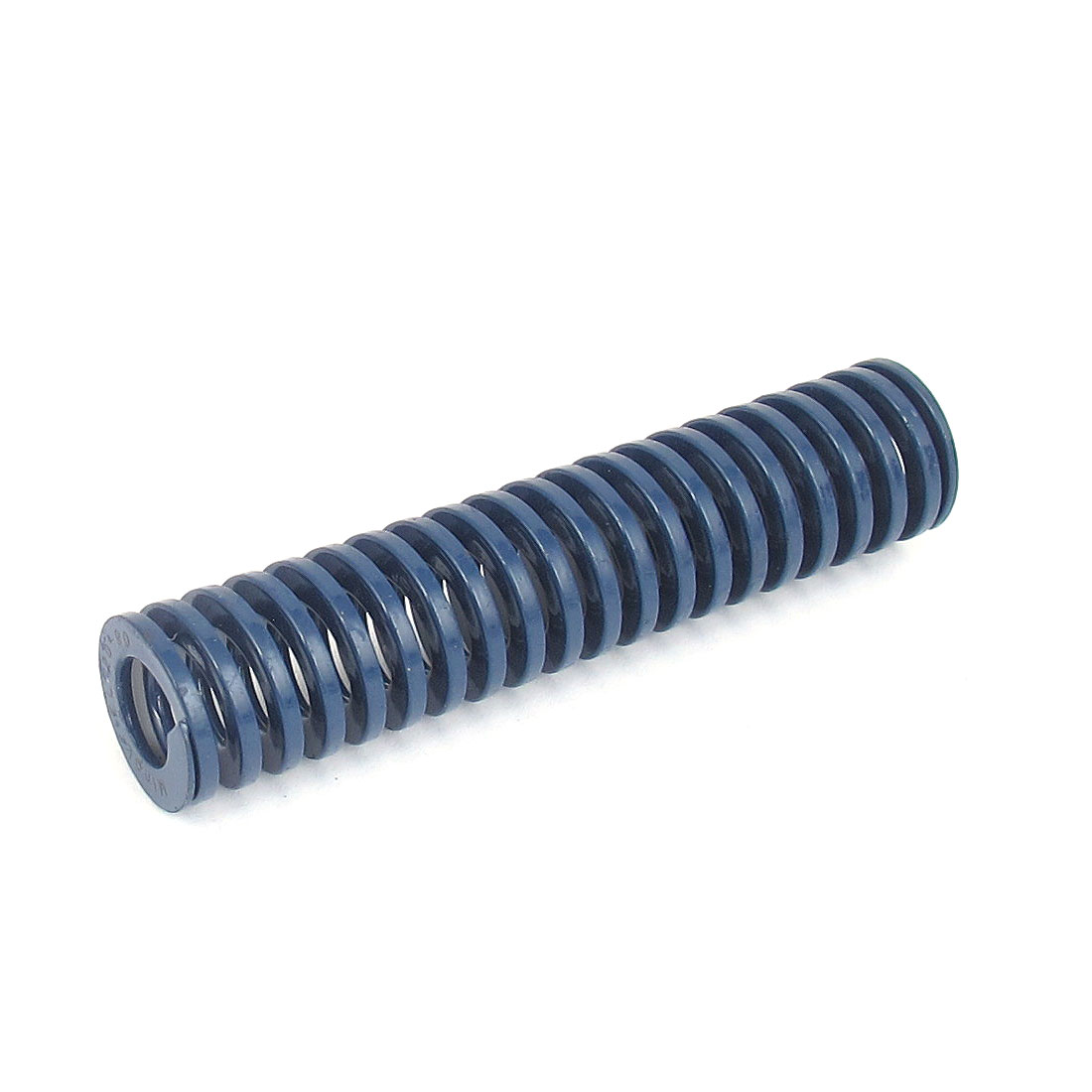 20mm OD 90mm Long Light Load Spiral Stamping Compression Die Spring Blue