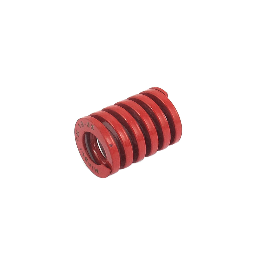 18mm OD 25mm Long Medium Load Spiral Stamping Compression Die Spring Red