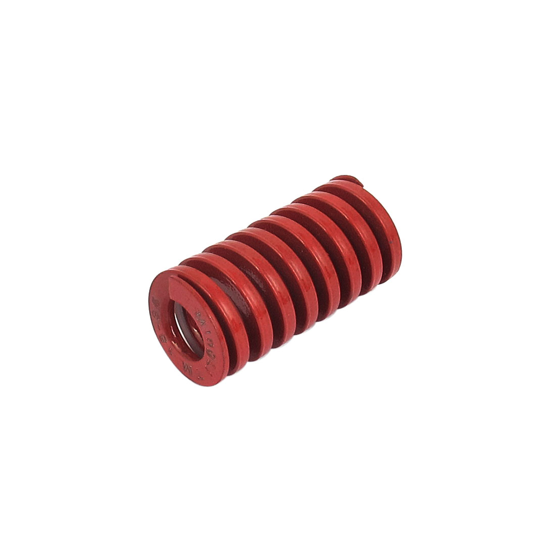 18mm OD 35mm Long Medium Load Spiral Stamping Compression Die Spring Red