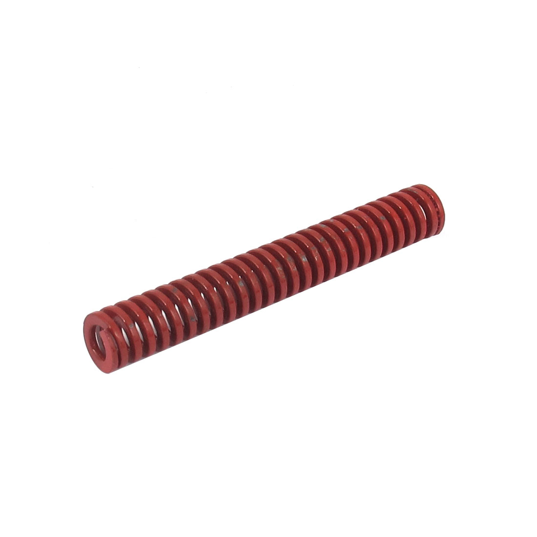 8mm OD 55mm Long Medium Load Spiral Stamping Compression Die Spring Red