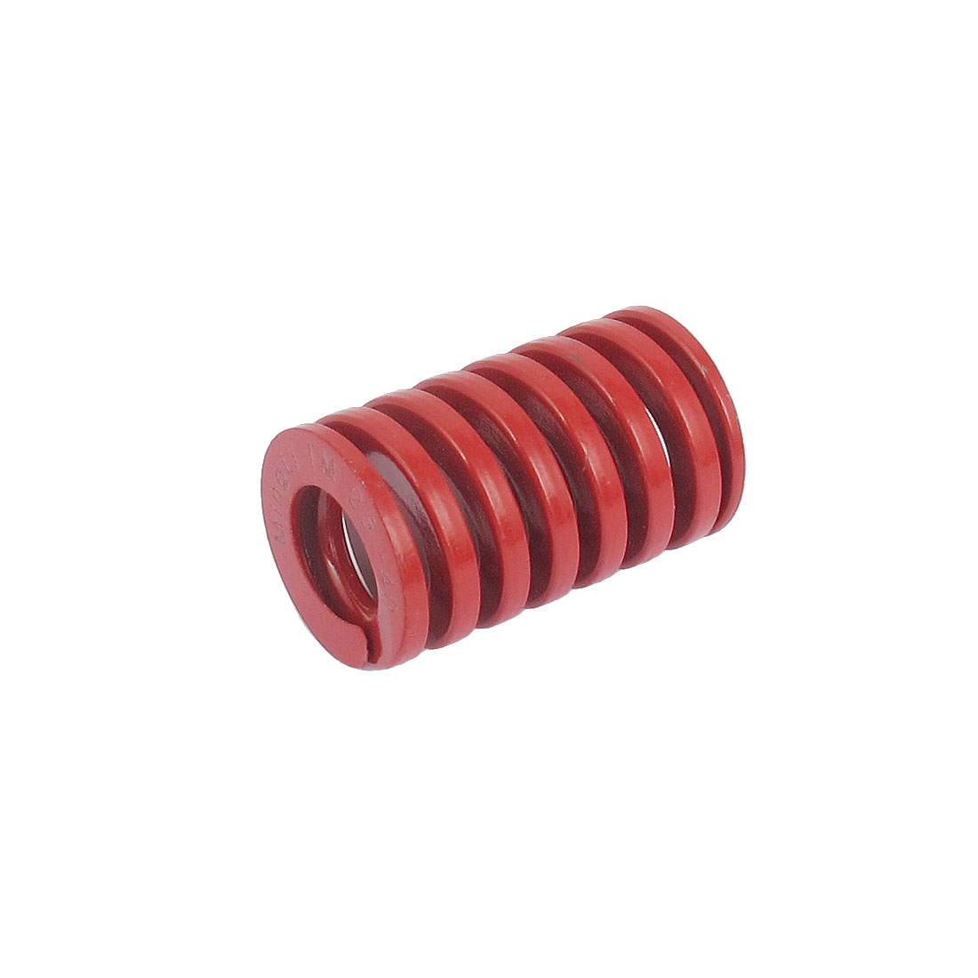 25mm OD 40mm Long Medium Load Spiral Stamping Compression Die Spring Red