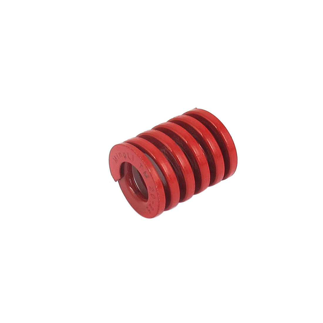 20mm OD 25mm Long Medium Load Spiral Stamping Compression Die Spring Red