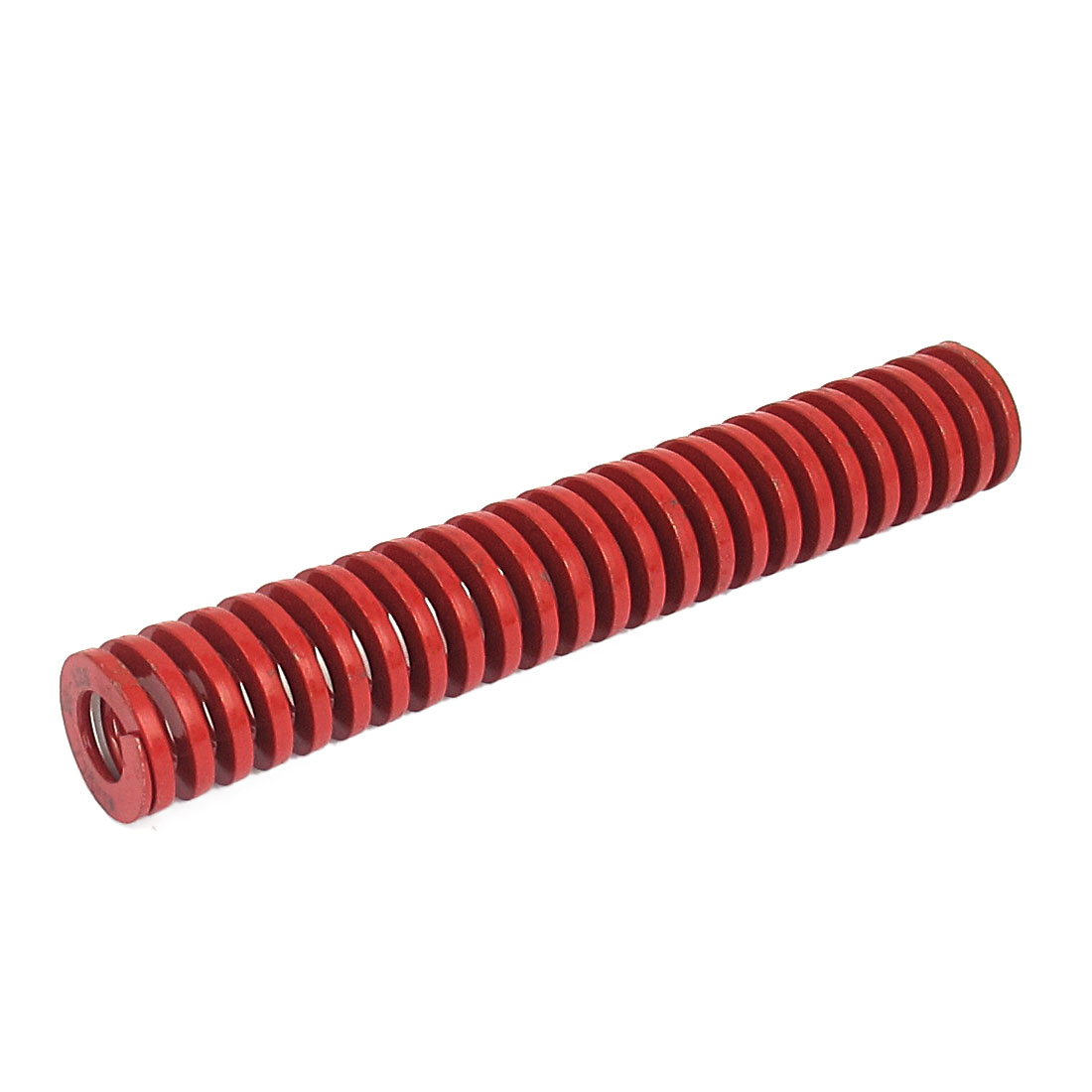 20mm OD 125mm Long Medium Load Spiral Stamping Compression Die Spring Red