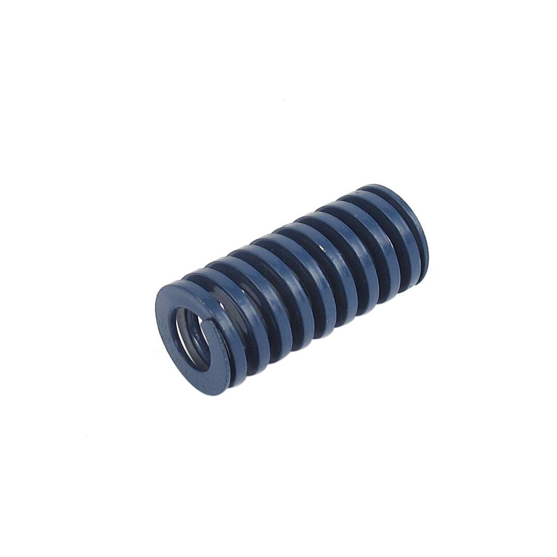16mm OD 35mm Long Light Load Spiral Stamping Compression Die Spring Blue