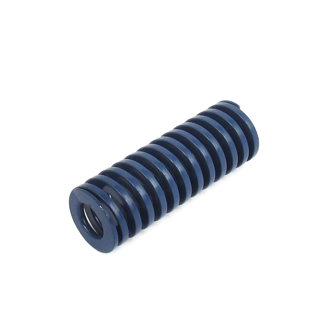 16mm OD 45mm Long Light Load Spiral Stamping Compression Die Spring Blue