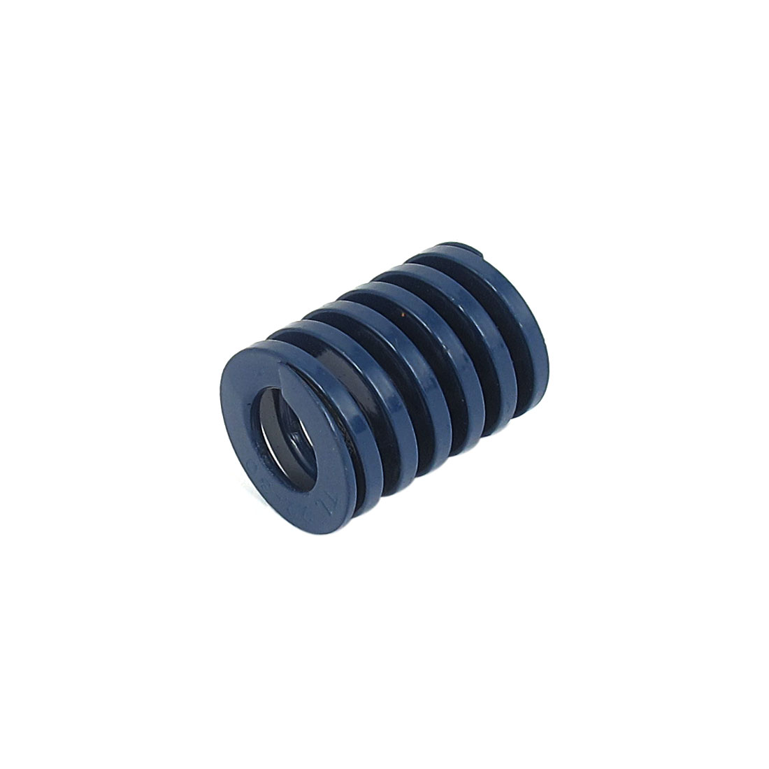 22mm OD 30mm Long Light Load Spiral Stamping Compression Die Spring Blue