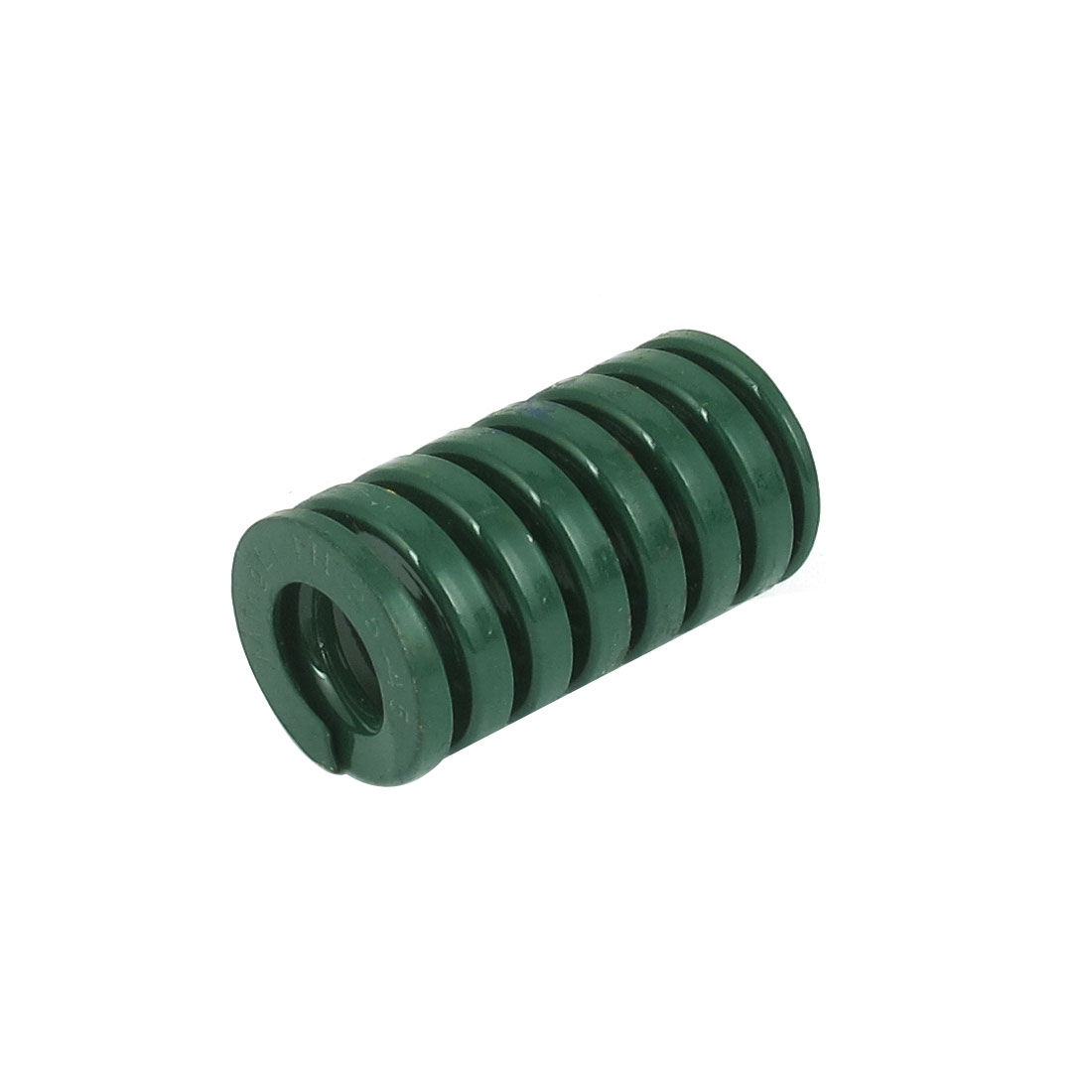 25mm OD 45mm Long Heavy Load Spiral Stamping Compression Die Spring Green