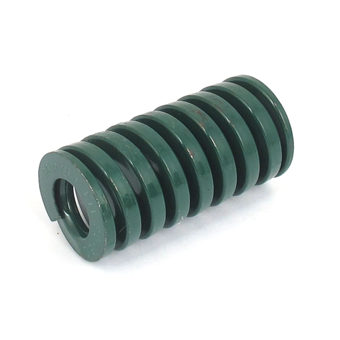 25mm OD 50mm Long Heavy Load Spiral Stamping Compression Die Spring Green