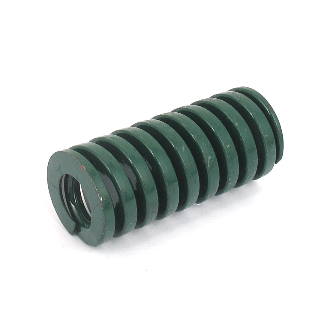 25mm OD 55mm Long Heavy Load Spiral Stamping Compression Die Spring Green