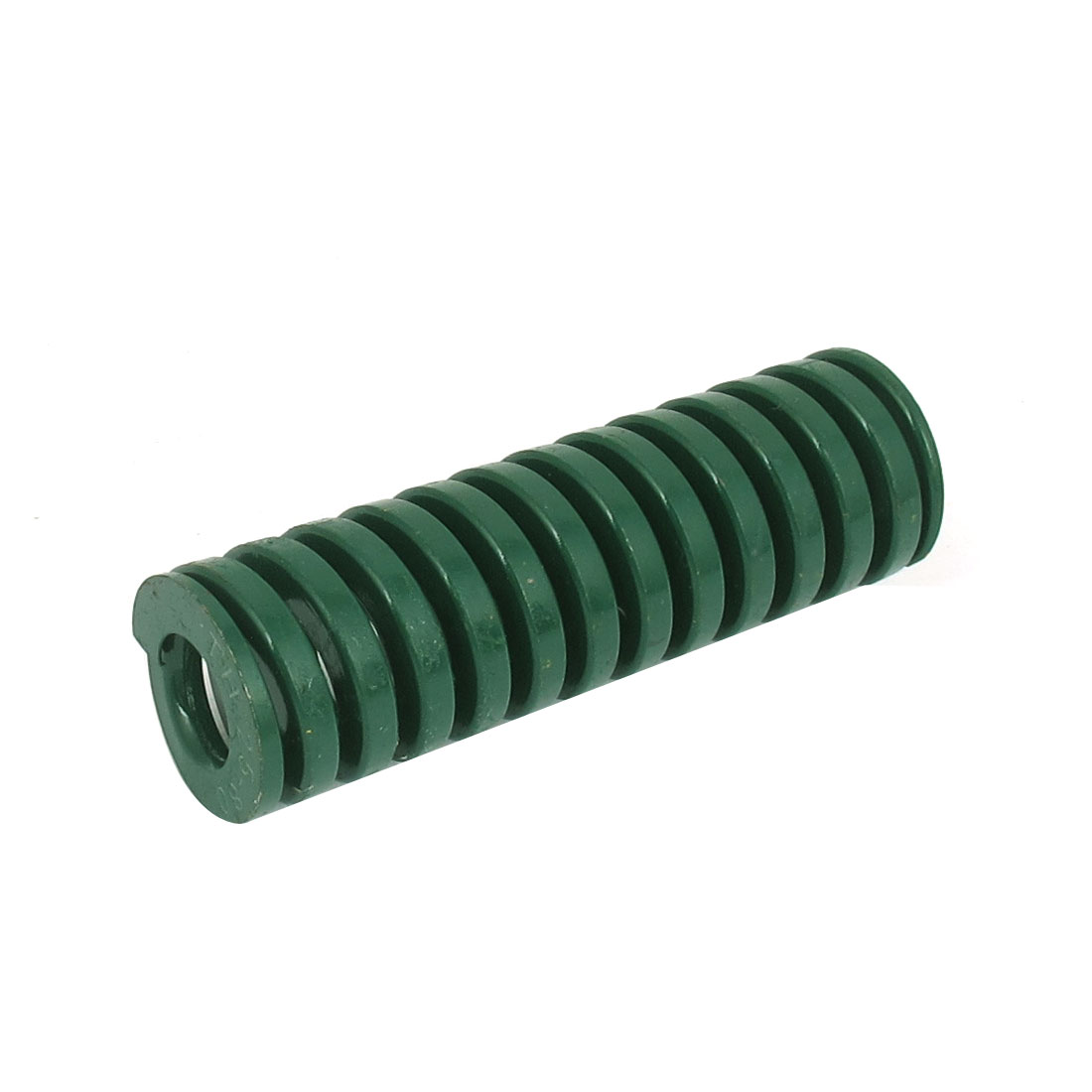 25mm OD 80mm Long Heavy Load Spiral Stamping Compression Die Spring Green