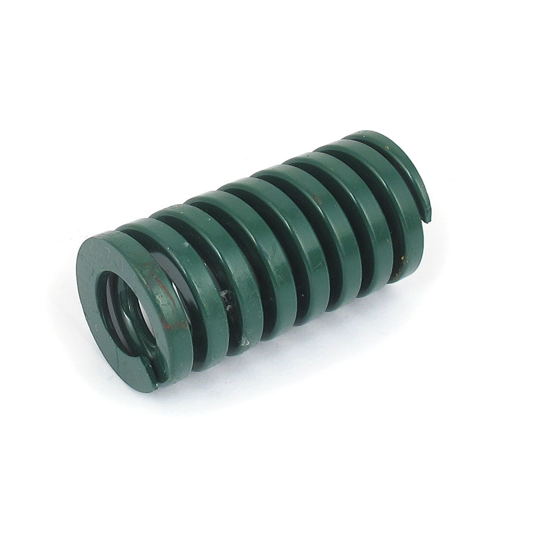 35mm OD 70mm Long Heavy Load Spiral Stamping Compression Die Spring Green