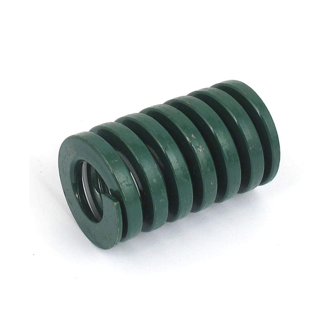 40mm OD 65mm Long Heavy Load Spiral Stamping Compression Die Spring Green