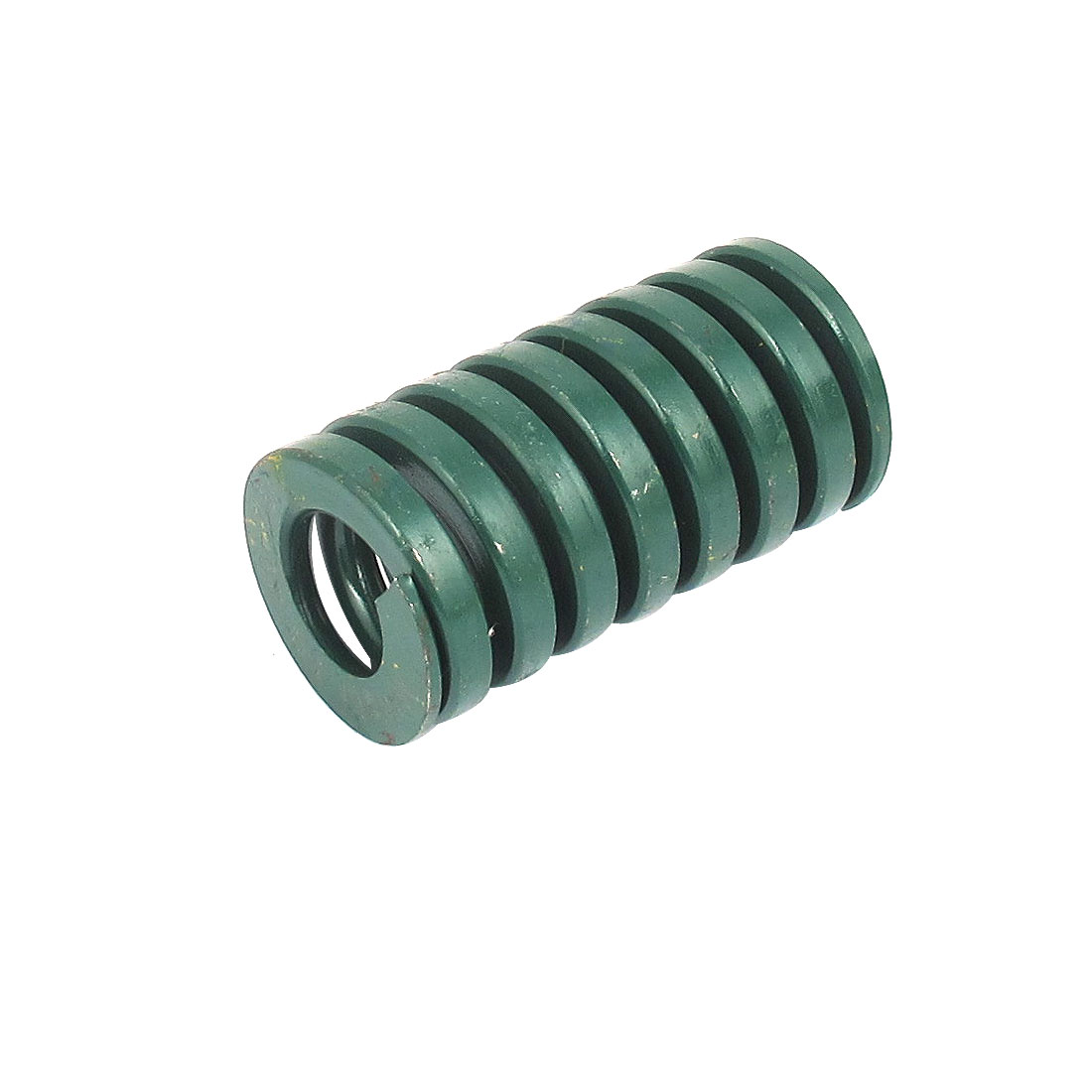 40mm OD 75mm Long Heavy Load Spiral Stamping Compression Die Spring Green