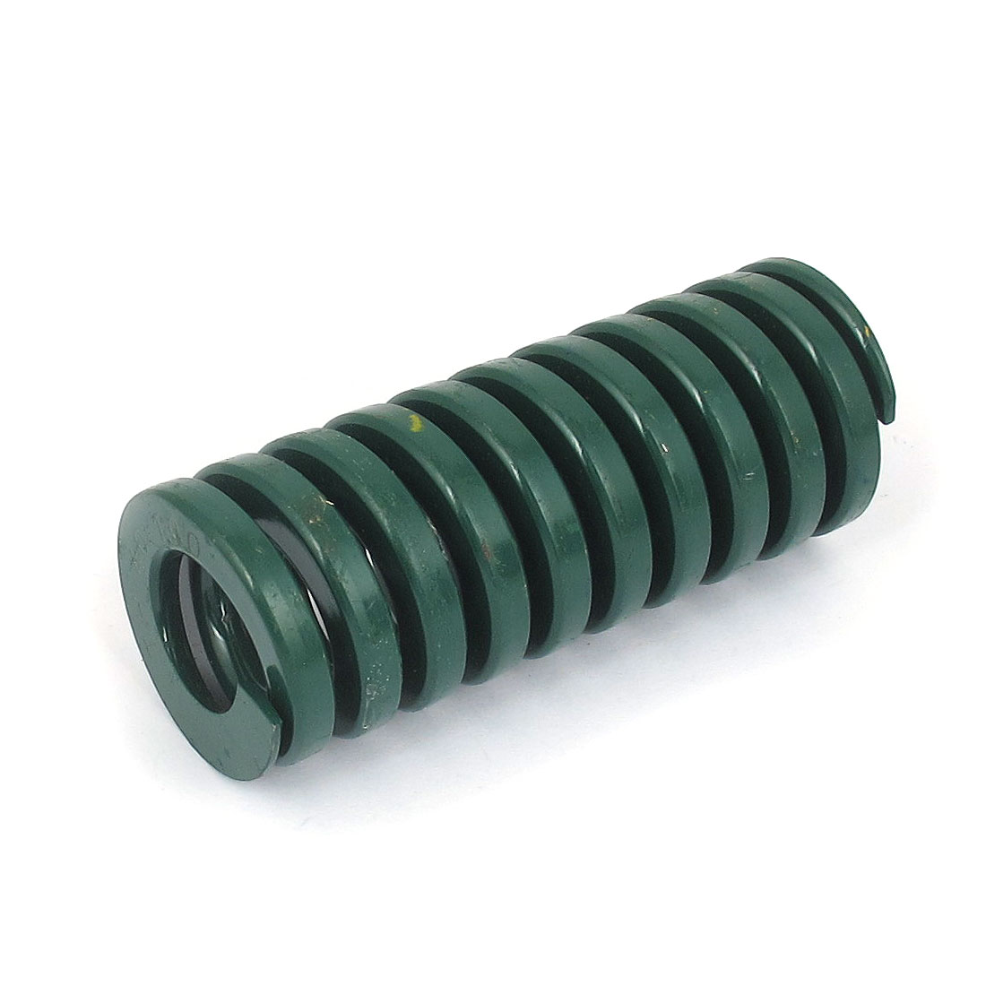 40mm OD 100mm Long Heavy Load Spiral Stamping Compression Die Spring Green