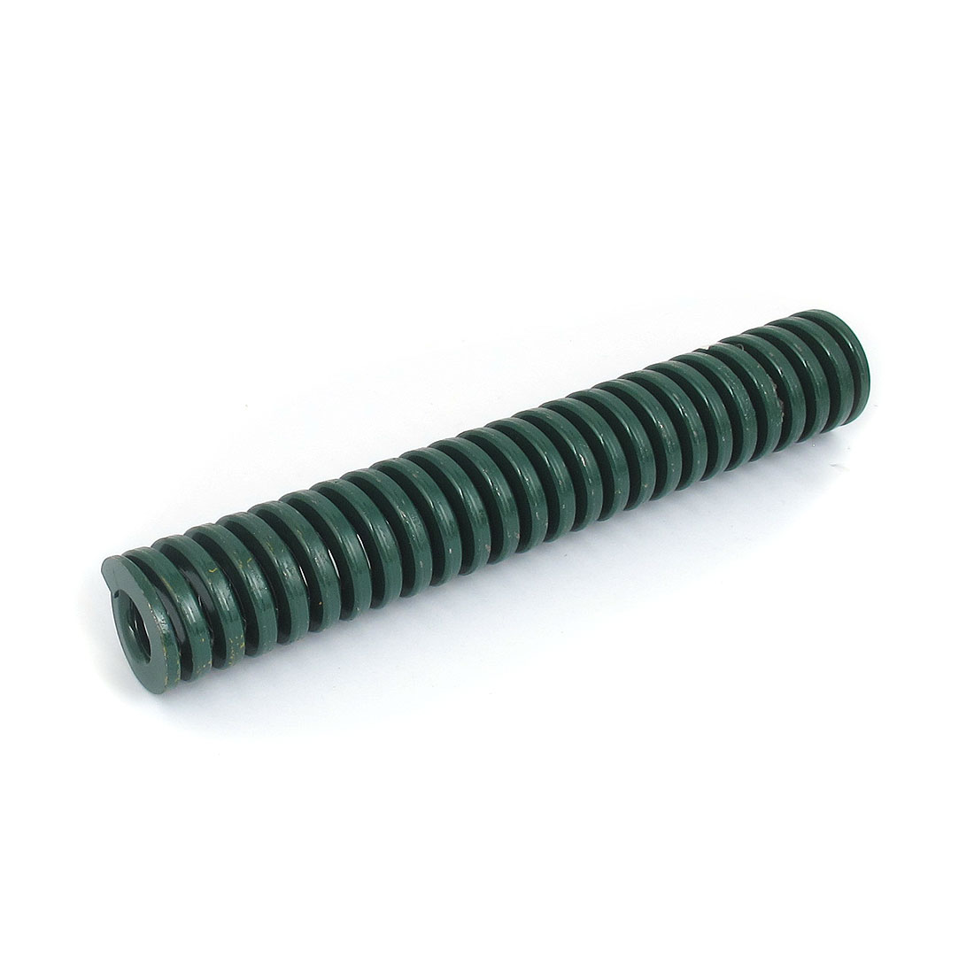 40mm OD 250mm Long Heavy Load Spiral Stamping Compression Die Spring Green
