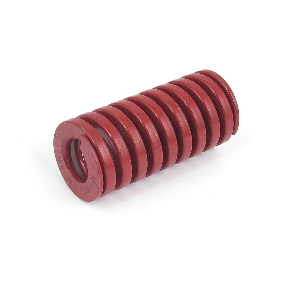 40mmx85mm Chromium Alloy Steel Medium Load Die Spring Red
