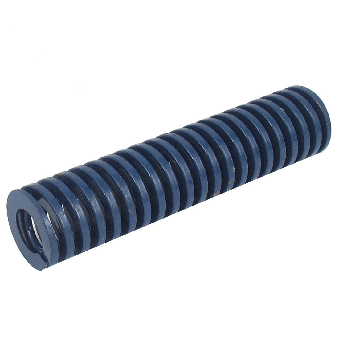 40mm OD 175mm Long Light Load Spiral Stamping Compression Die Spring Blue