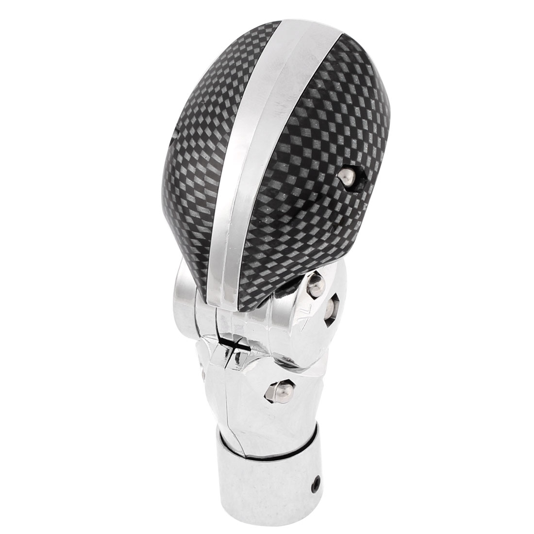 Auto Car Carbon Fiber Texture Curved Gear Shift Knob