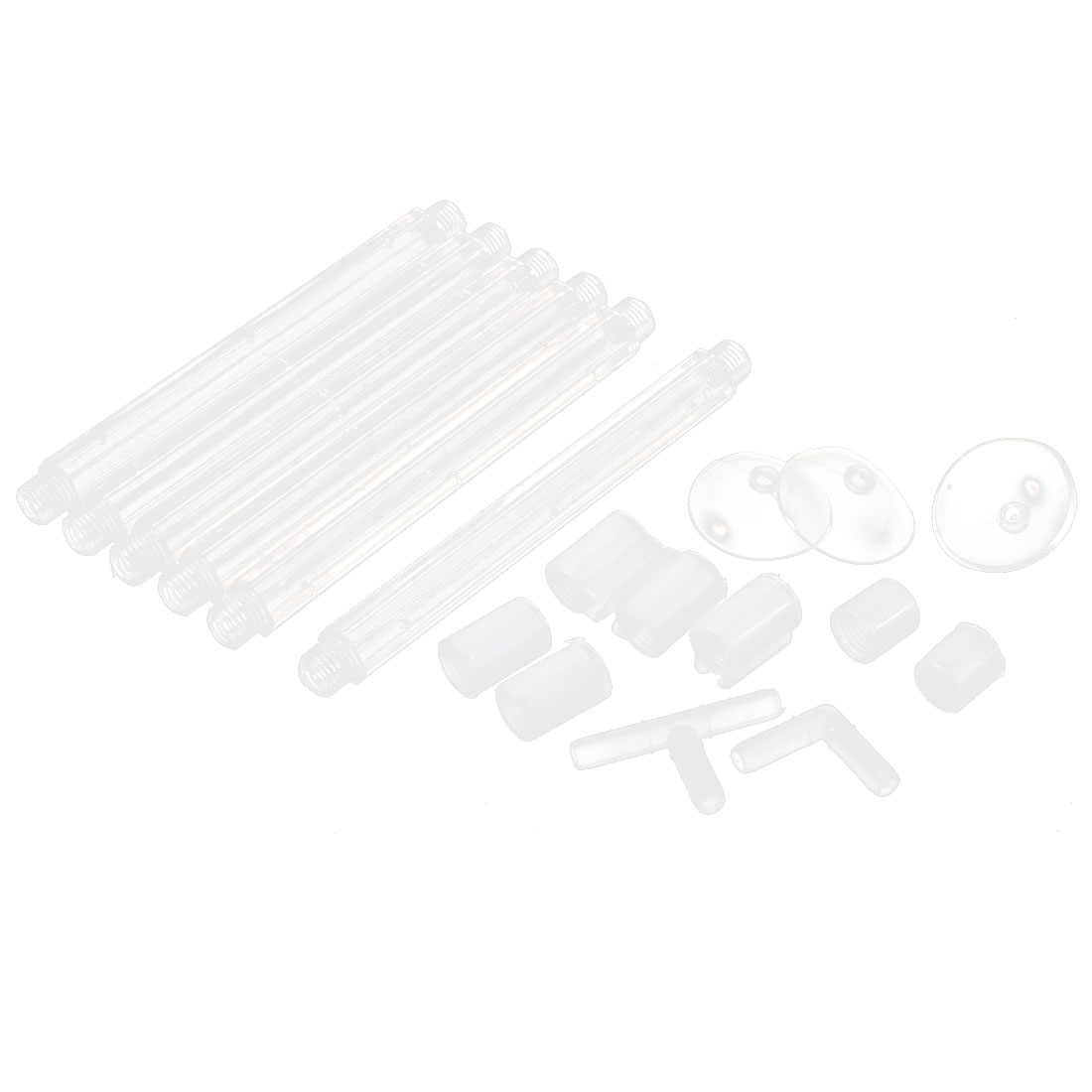 Aquarium Fish Tank Plastic Air Curtain Clear 18 in 1
