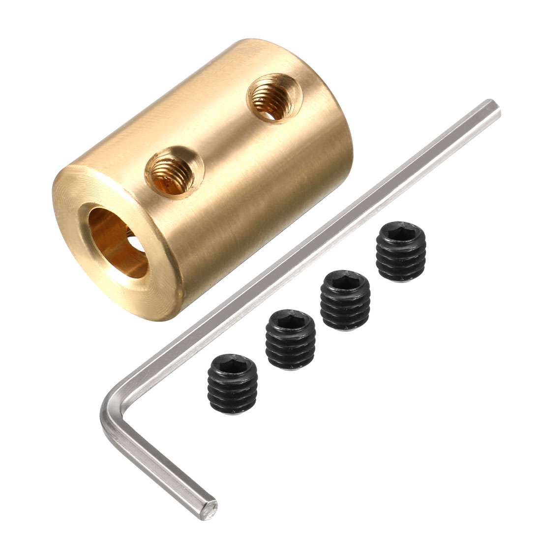 5mm to 7mm Aluminium Alloy Brass Motor Shaft Coupling Joint Connector