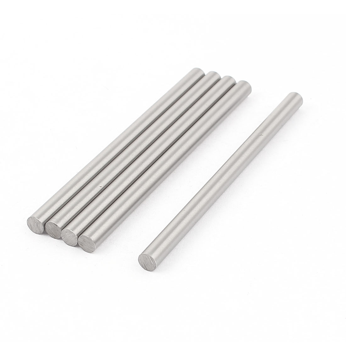 5 Pcs 6mmx100mm Metal Solid Round Rod Bar for DIY RC Model Car