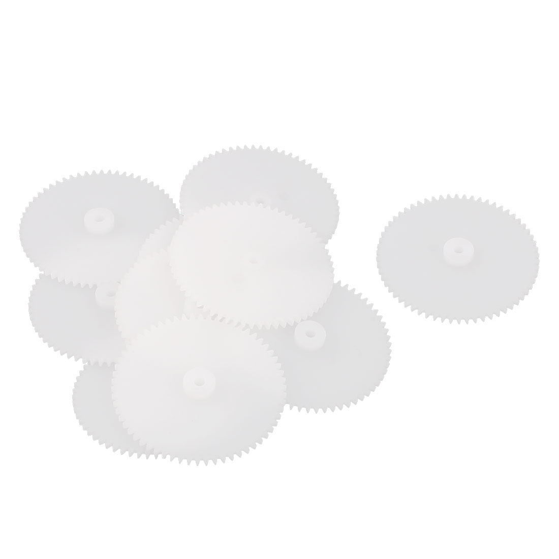 10Pcs 62-2A 0.5 Modulus Plastic Single Reduction Motor Gear for RC Airplane