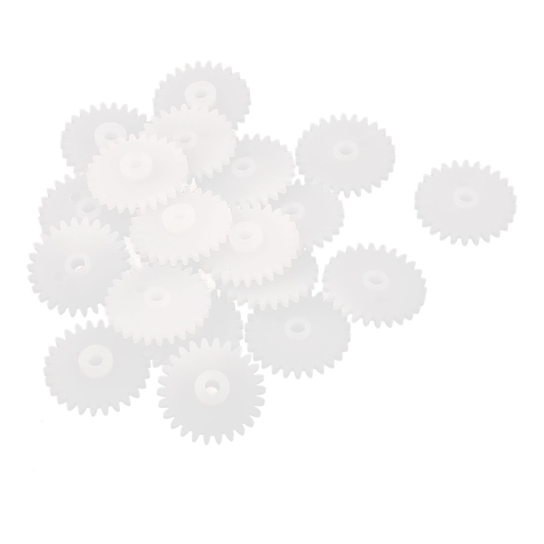 20Pcs 26 Teeth 0.5 Modulus Plastic Single Reduction Motor Gear for RC Airplane