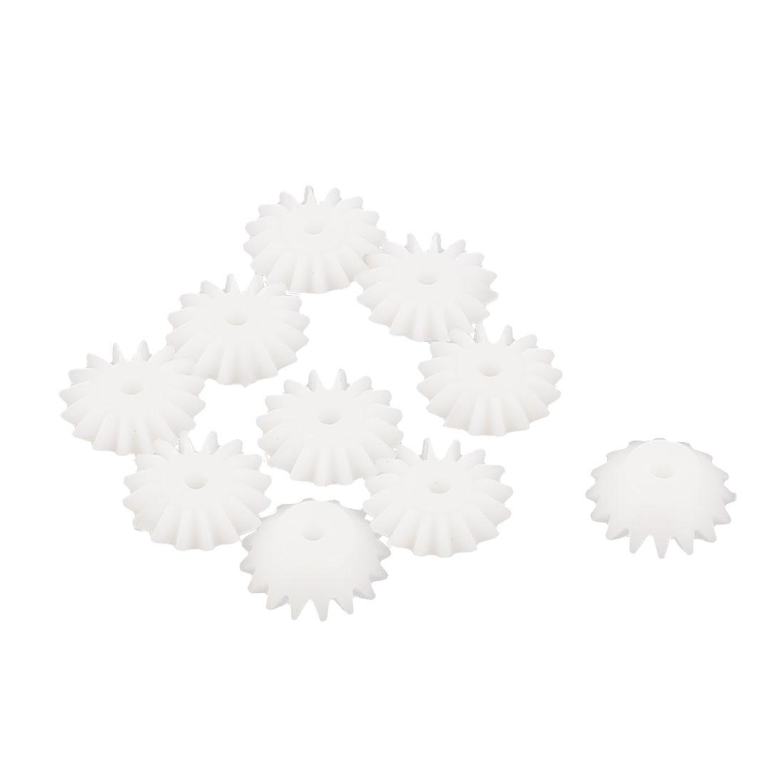 10Pcs 11mmx5mmx2mm 16 Teeth Umbrella Shape Bevel Gear for DIY RC Toy