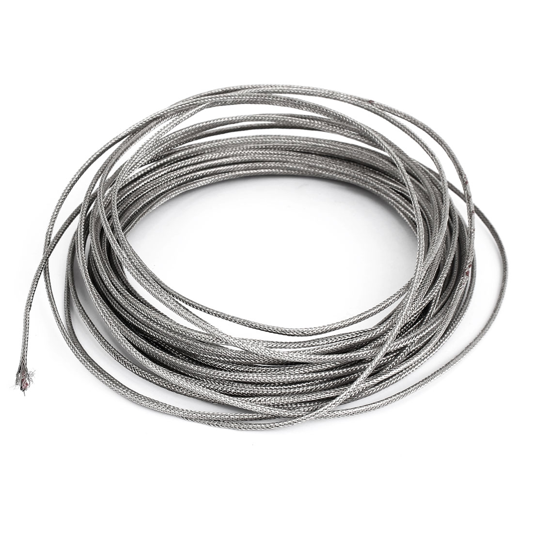 0-500C Temperature Range K Type Thermocouple Extension Wire 3mm Width 12M Length