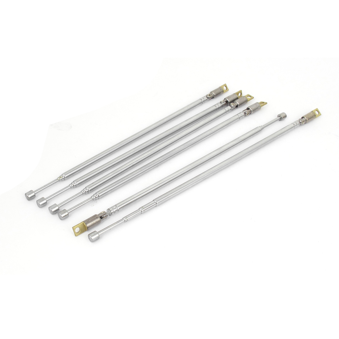 "6pcs 600mm 23.6"" Long Rod 4 Sections Telescopic RC TV Control Antenna Aerial Mast 360 Degree"