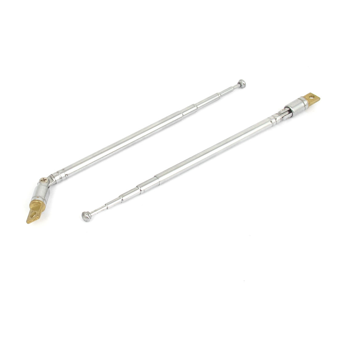 "2pcs 320mm 12.6"" Long 5 Sections Telescopic Antenna Aerial 360 Degree for RC Radio Controller"