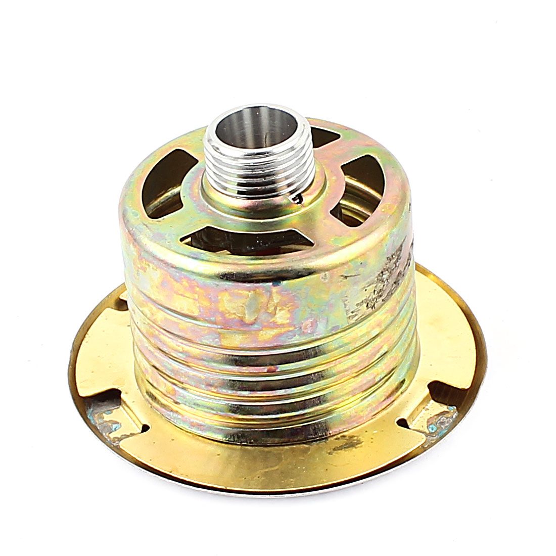 Safety System 20mm Thread Brass Tone Cover Watering Sprinkler Head