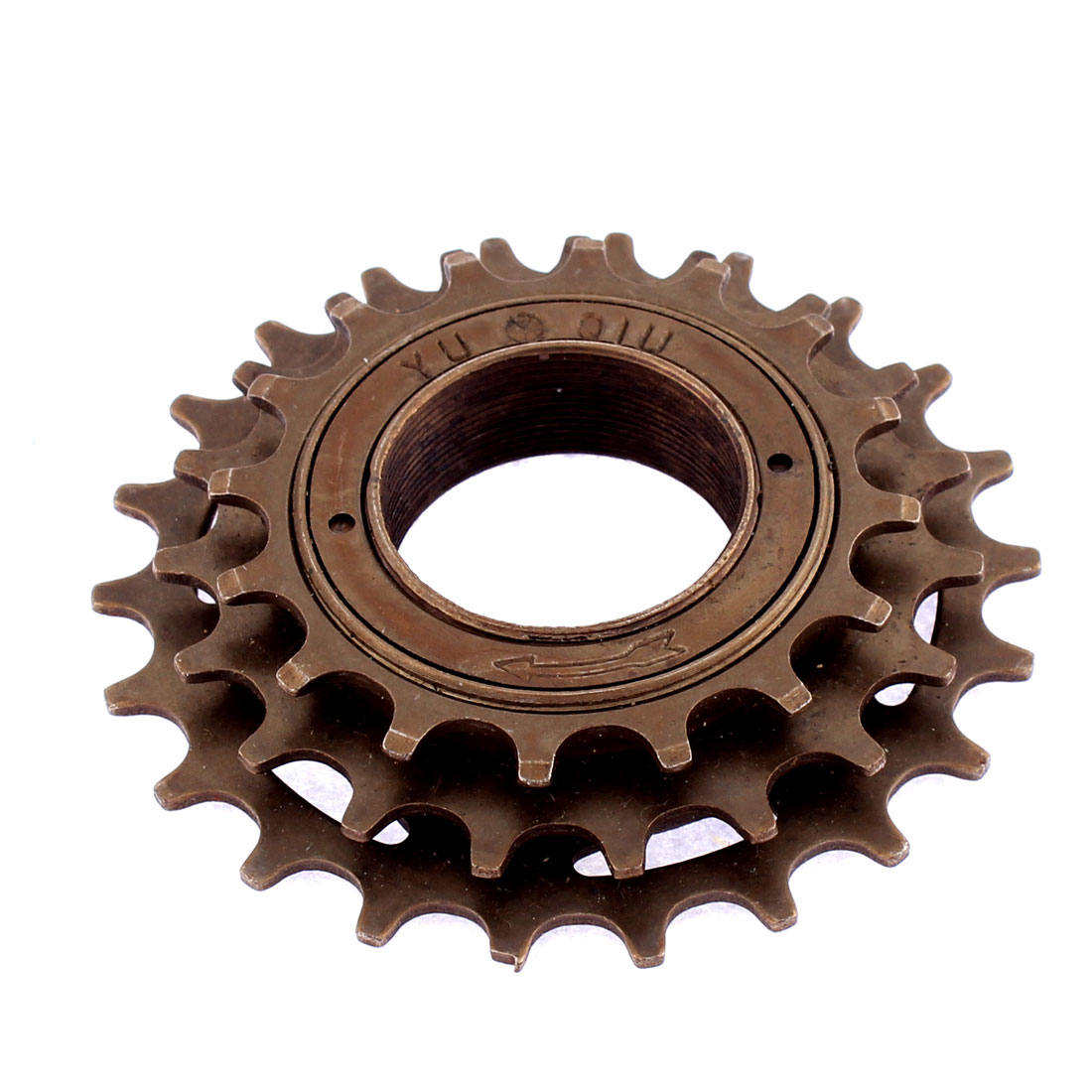 Cycling Road Mountain Bike Bicycle 3-Speed Sprocket Freewheel Bronze Tone