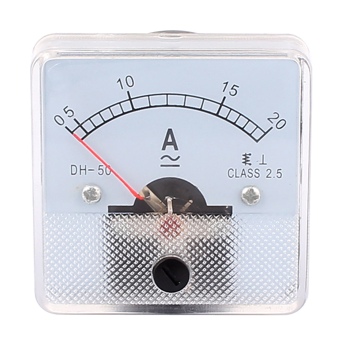 DH-50 AC 0-20A Square Panel Mount Meter Gauge Current Analogue Analog Ammeter