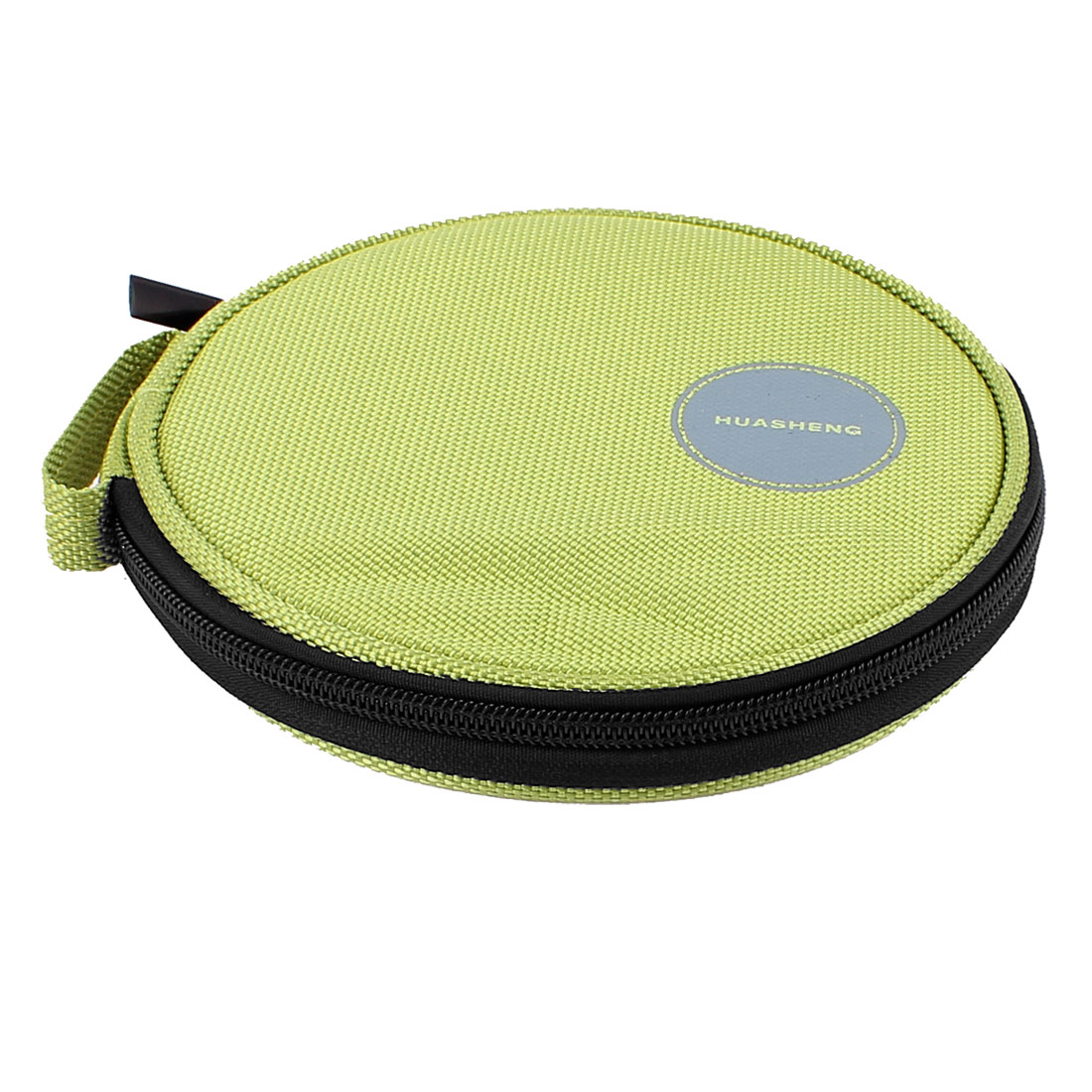 Nylon 10 CDs DVD CD Holder Bag Sheet Storage Case Wallet Green
