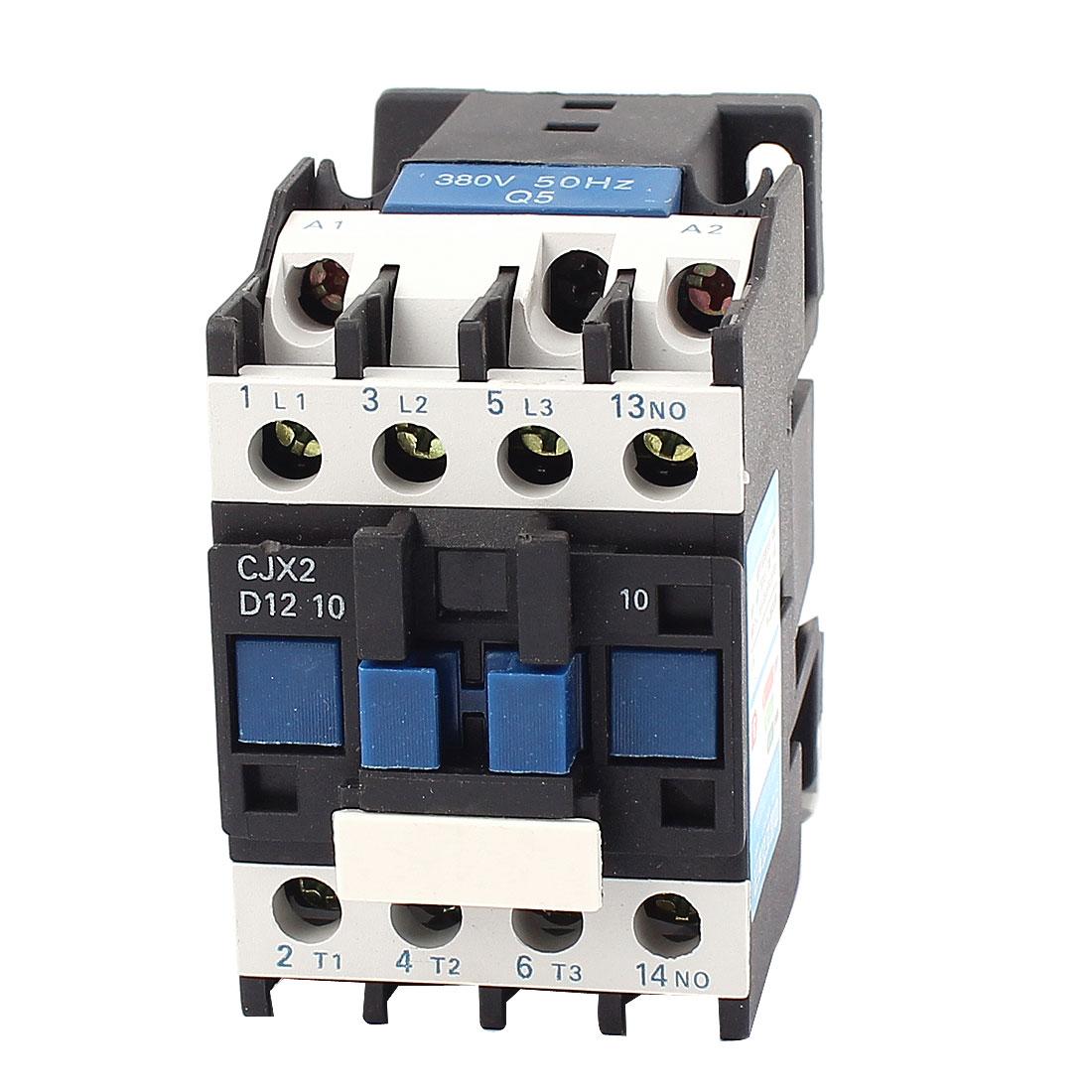 660V 32A 3 Pole NO CJX2-1210 AC Contactor Motor Starter Relay