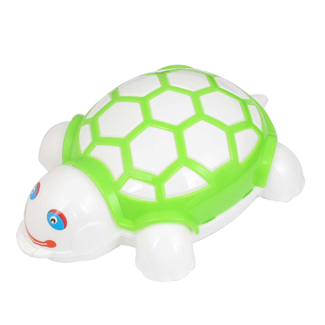 Green Plastic Tortoise Shaped Push Double Rollers Cleaning Brush Cleaner Tool for Carpet Mat